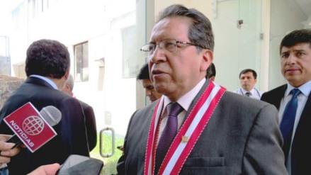 Fiscal de la Nación pedirá que cambios en JNE se den tras elecciones
