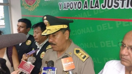 Jefe policial regional afirma que índice de delitos disminuyó en un 18%