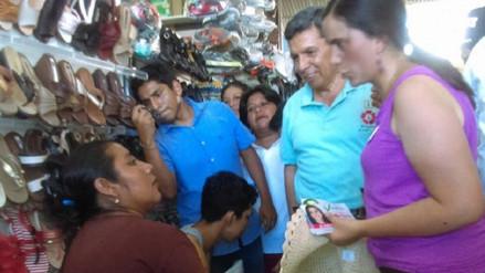 Candidata Verónica Mendoza visitará mercados de Chiclayo y distritos
