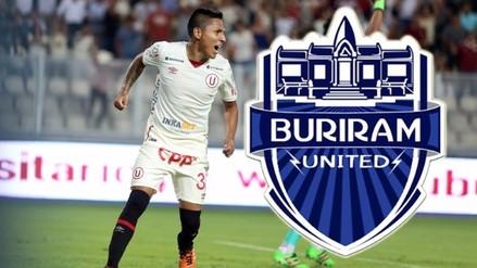 Raúl Ruidíaz: conoce todo del Buriram United, el club en el que podría desembarcar