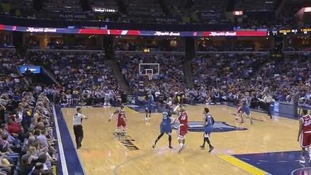 YouTube: genial canasta de Vince Carter en la NBA desde 22 metros