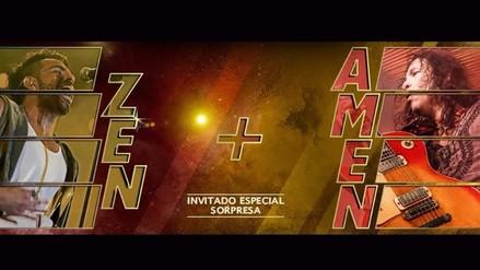 """Amén y Zen juntos en la segunda edición de """"Entre Amigos"""""""