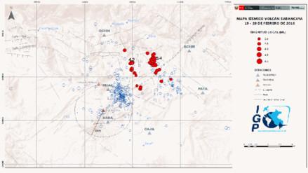 Sismo producido en Maca guarda relación con actividad de volcán Sabancaya