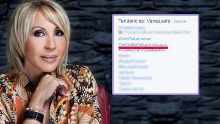 Twitter: Venezolanos no quieren a Laura Bozzo en su país
