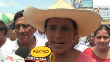 Verónika Mendoza asegura que gobierno de Keiko sería nefasto