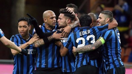 Inter de Milan ganó 3-1 a la Sampdoria con Ronaldo y Mourinho en la tribuna