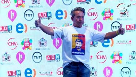 Viña del Mar: Ricardo Montaner clamó libertad para Leopoldo López