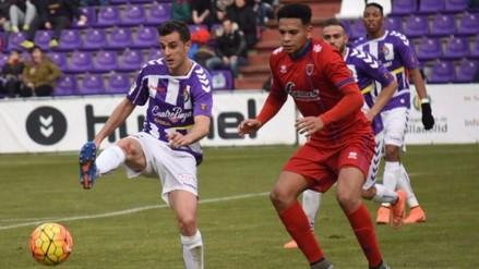 YouTube: Alexander Callens anotó en el 2-2 entre Numancia y Valladolid