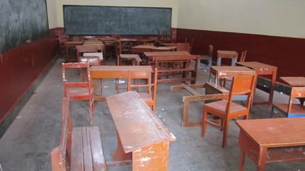 El 60% de instituciones educativas en Jaén presentan deficiencias