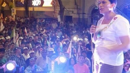 Candidata Verónika Mendoza promete reflotar a la industria azucarera