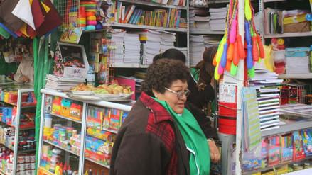 Huancayo: ofrecen lista de útiles por 90 soles en feria escolar