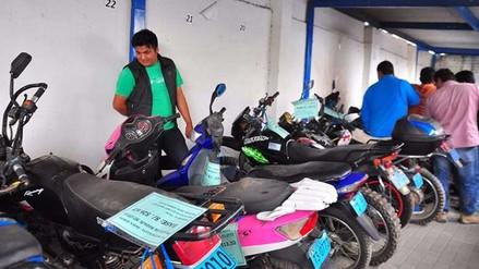Trujillo: rematarán motos y autos incautados a morosos desde 242 soles
