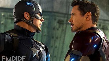 Capitán América Civil War: Nuevas fotos en portada de Empire