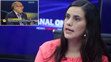 Mendoza y Abugattás protagonizan acalorado debate por denuncia a Humala