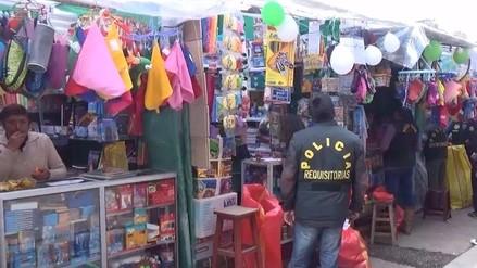 Huancayo: autoridades emitirán directiva contra útiles tóxicos