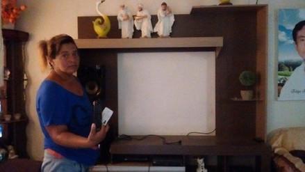 Chiclayo: delincuentes se llevan televisores a escasos metros de puesto policial