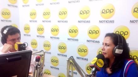 """Gloria Montenegro: """"El Apra está tras las denuncias contra Cesar Acuña"""""""