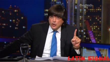 YouTube: Jaime Bayly reveló sus preferencias electorales y disparó contra García