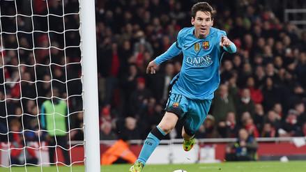 Arsenal vs. Barcelona: Lionel Messi cerró con gol brillante contragolpe de la MSN