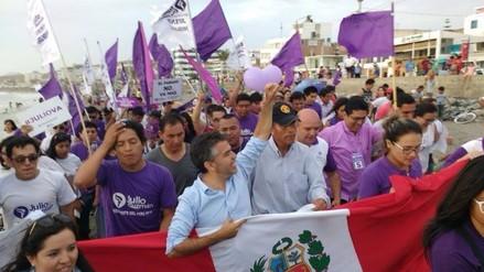 Bases provinciales preparan llegada de Julio Guzmán para campaña