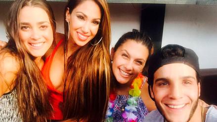 """Mario Irivarren niega """"ampay"""" con su amiga Melissa Loza"""