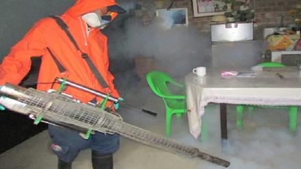 Salud fumigará distrito de La Unión contra dengue, chikungunya y zika