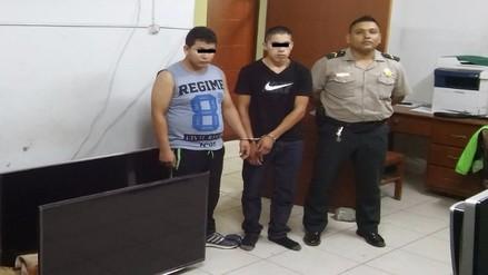 Policía recupera artefactos robados valorizados en más de 6 mil soles
