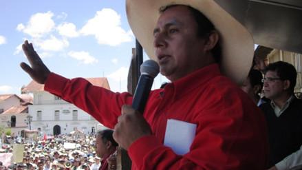 Gregorio Santos grabó mensaje político desde el penal Piedras Gordas