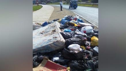 Callao: reportan basura acumulada en el distrito Mi Perú