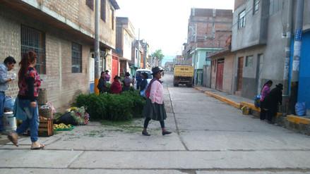 Ayacucho: Vendedores ambulantes toman ciudad