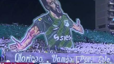 YouTube: Deportivo Cali asombró con un mosaico ante Boca Juniors