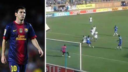 YouTube: intentaron imitar el penal de Messi y Luis Suárez, pero les salió todo mal