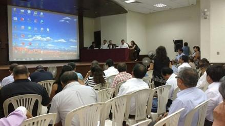 Miembros de la comisión de acciones por El Niño sesionan en Chiclayo