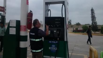 Osinergmin verifica estado de combustible en grifos de Lambayeque