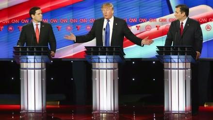 Rubio y Cruz se unen para sacar toda la artillería posible contra Trump