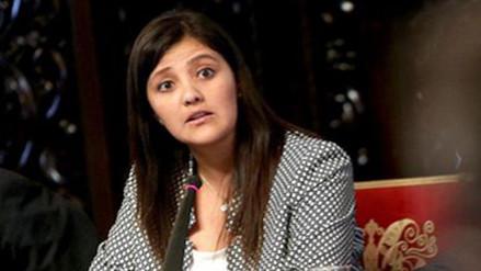 Gobernadora regional pide apoyo al Estado ante emergencia por lluvias