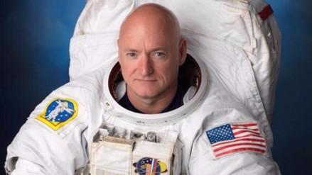 Tras un año en el espacio, Scott Kelly está ansioso por una ducha