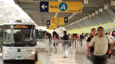 Vía troncal del Metropolitano será ampliada hasta Carabayllo con S/ 200 mllns