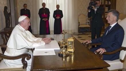 El Papa y Macri hablaron de lucha contra el narcotráfico y corrupción