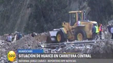 Carretera Central continuará bloqueada varios días más