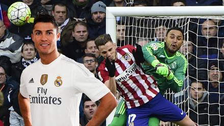 Real Madrid vs. Atlético de Madrid: Keylor Navas le respondió a Cristiano Ronaldo