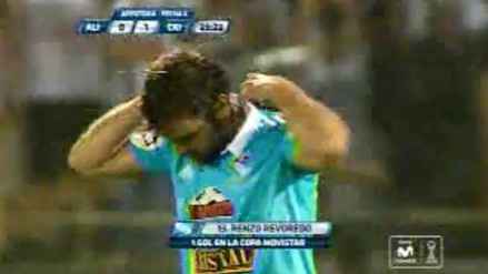 Alianza Lima vs. Sporting Cristal: Renzo Revoredo anotó un golazo de taco en Matute
