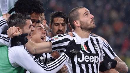 Juventus ganó 2-0 al Inter de Milan y es líder en solitario de la Serie A