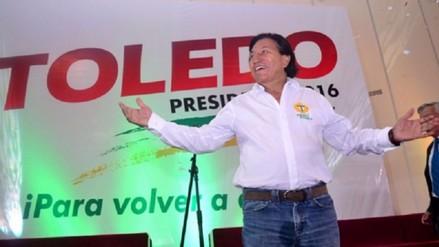 Alejandro Toledo desmiente a Omonte y dice que no evalúa retirarse