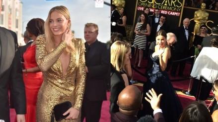 Premios Oscar: El 'backstage' de los famosos en la alfombra roja