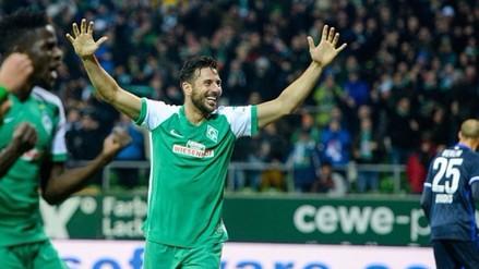 Twitter: Claudio Pizarro junto a Franck Ribery y Robert Lewandowski en el once de la Bundesliga