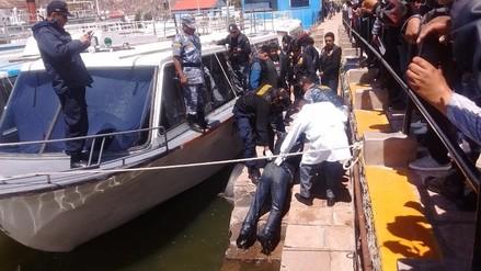 Puno: hallan cadáver flotando en las gélidas aguas de lago Titicaca