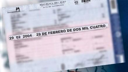 ¿Cuántos peruanos están de cumpleaños este 29 de febrero?
