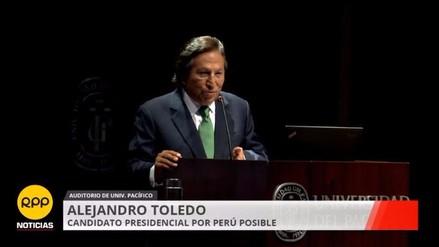 Alejandro Toledo: 7 ideas que resumen sus propuestas económicas