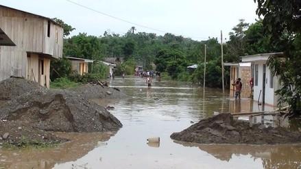 Senamhi advierte el incremento del caudal del río Huallaga